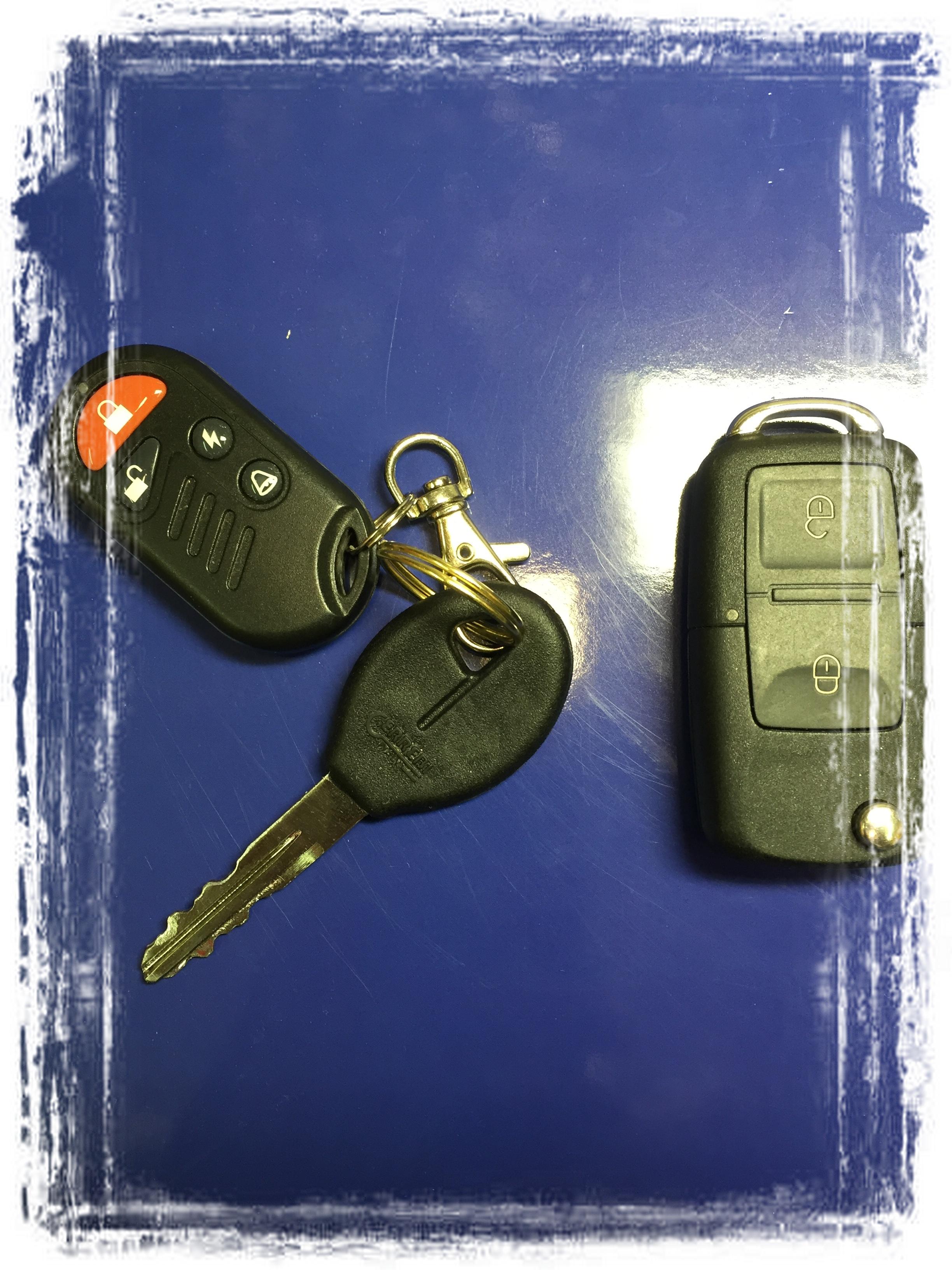 Как сделать ключ с сигналкой